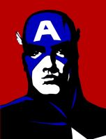 Captain America - Colour by Agent-Foo