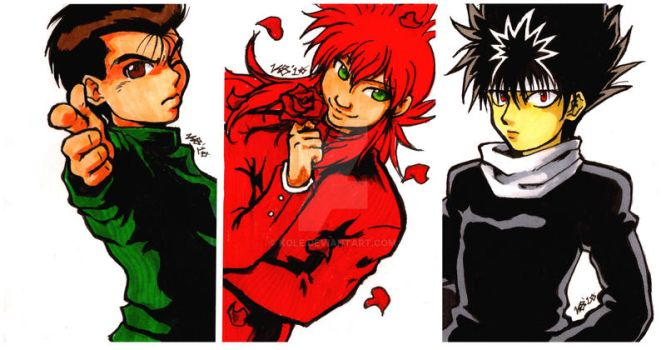 AACards::YuuYuuHakusho by kole