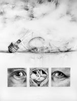 Fragile _ pencil drawing by arminmersmann