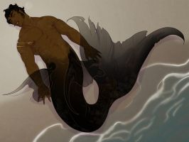 monsterBOY 05: merman by fydbac