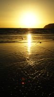 Great barrier island sunset by R1C3-b0y