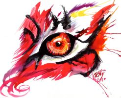 Red Tiger Eye by Lucky978