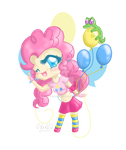 Pinkie Pie - chibified by DragonGirl983