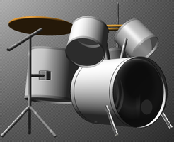 Drumset by Eulogy-Dignity