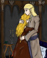 LOTR: Royal Grief by yammyqueen