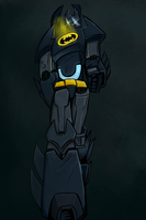 Batman Transformer by Spikeprime
