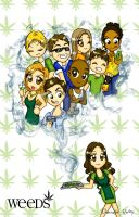 Weeds Chibi Style by girl0in0question