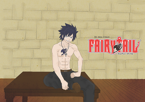 Gray Fullbuster Colored by NoirMafia