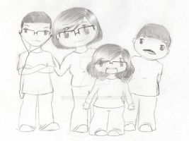 My family, scrap by HappyChan