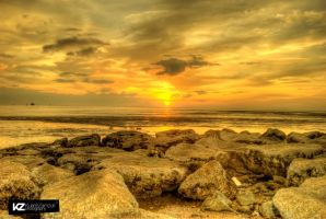 Sunset in HDR by kuriee
