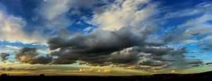 Panoramic Cloudscape by neoweb