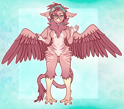 Striped Griffon Adopt [CLOSED] by CarouselAdopts
