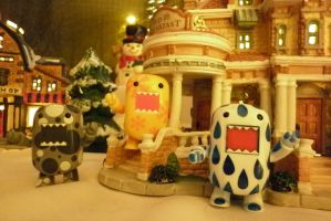 Domo's Are Home For The Holidays by Veronyak