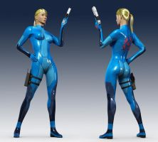 Zero Suit Samus by MightyReg