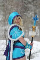 Crystal Maiden from DoTA 2 by AnnaLynnCosplay
