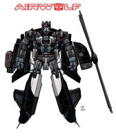 airwolf as a transformer by lordsmiley