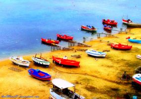 Colorful boats... by AnnMarie10