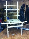 Almost done Cedar High Back Chair (Unfinished) by ragesevenqb