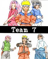 Naruto - Team 7 by asha0