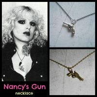 Nancy's Gun Necklace by Here-is-MaryLou
