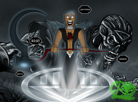 Lightning as Nekron by skull1045fox