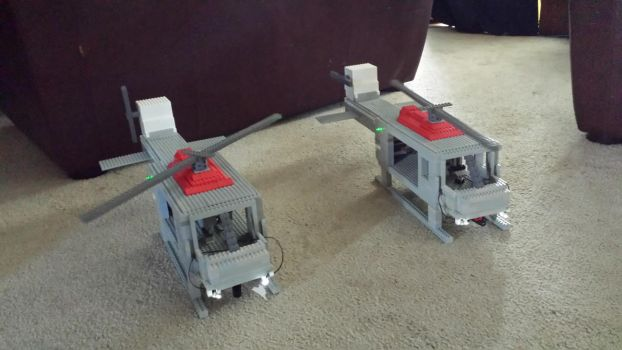 Lego Helicopters by Super-Mantis
