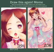 Draw this again! Meme by SuuLore