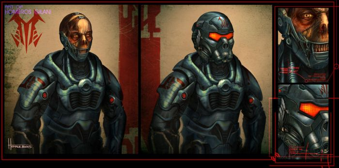 Abominated Troopers by Homeros-Gilani