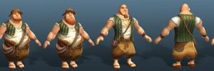 Settlers 7 Farmers by polyphobia3d