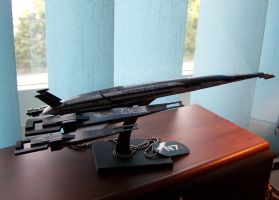SR2 Normandy paper model by adiera1