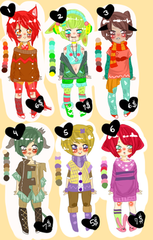 Tacky Adopts- OPEN by ChocoRevolution