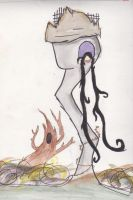 Tim Burton Rapunzel by Art--Pixie