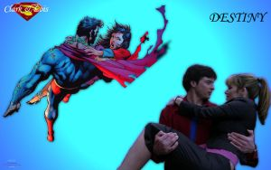 Clark and Lois Destiny by Xionice