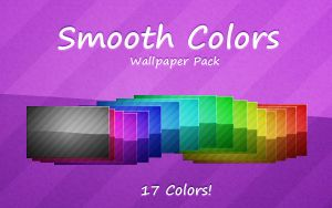 Smooth Colors Wallpaper Pack by SparkLum