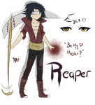 Reaper Adopt (CLOSED) by LaviFreakAdopts