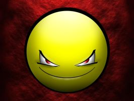 evil smiley by Bareck