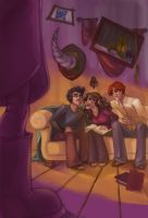 HP Project: The 3 Brothers BIG by travelingpantscg