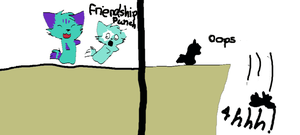 friendship pu- oops by Thundercatzgirl