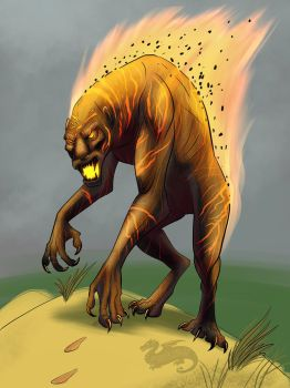 Ifrit Beast by moviedragon009v2