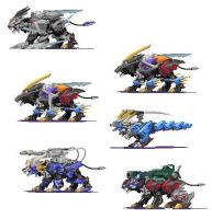 custom zoids by bladeliger112