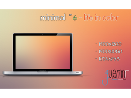 Minimal #6 - Life in Color by guemor