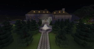 Resident Evil Mansion Minecraft by UNDEADWARRIOR7411