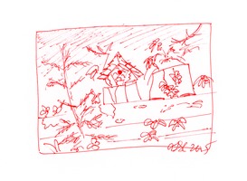 Bambe Cottage Sketch 5 by AdamTSC