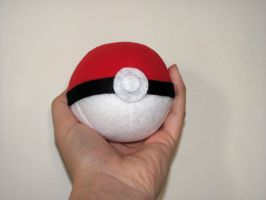 Pokeball Plushie by NocturnalEquine