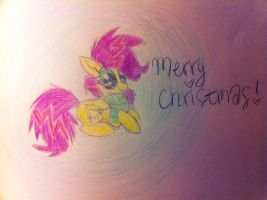 Merry Christmas From Shockwave by anonymousnekodos