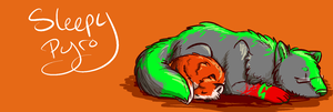 Small banner thing by SleepyPyrotechnics