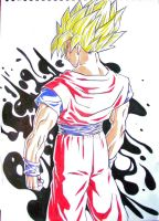 Goku is legend by TicoDrawing