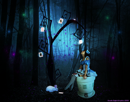 Alice on the Forest by MysticSerenity