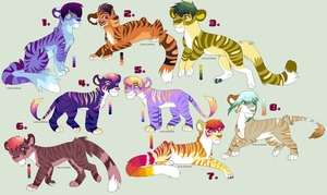 Big Cat Adoptables CLOSED by RussianBlues-Adopts
