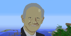 Ron Paul in Minecraft by Kungfuguy27